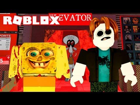Spongebob Scary Face Roblox Roblox New Scary Elevator 2019 Scary Spongebob Nightmare Youtube