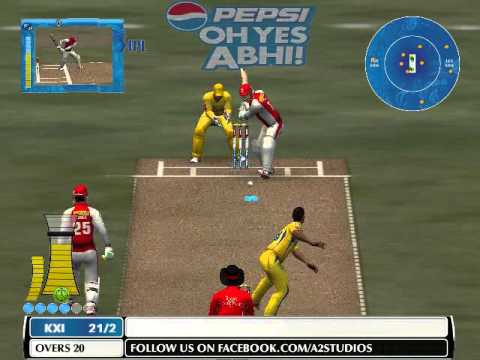 IPL 2014: KXIP Batting Highlights - CSK vs KXIP - IPL 7 2014 7th May {ea sports cricket 07}
