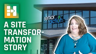 Senior Action: A Site Transformation Story