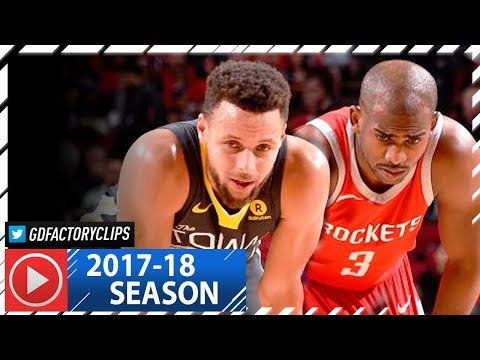 Chris Paul vs Stephen Curry EPIC Duel Highlights (2018.01.20) Rockets vs Warriors - CP3 with 33 Pts!