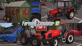 TOP9 NAJLEPSZYCH MODYFIKACJI TYGODNIA Farming Simulator 17