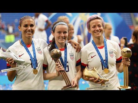 الولايات المتحدة تهزم هولندا وتحصد لقب كأس العالم لكرة القدم النسائية …  - 16:54-2019 / 7 / 8