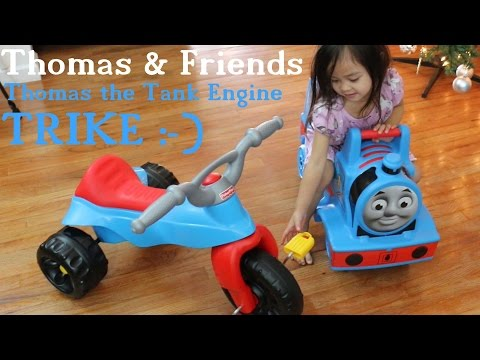 Ride-On Toys: Thomas The Tank Engine & Friends TRIKE Unboxing And Assembling
