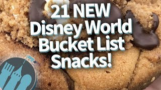 ALERT! 21 MORE Disney World Snacks You've Gotta Get!