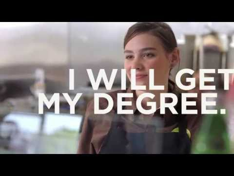 Valencia College - I Will Get My Degree (Work)