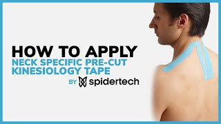 SpiderTech: Kinesiology Tape Application Using Neck Pre-Cut