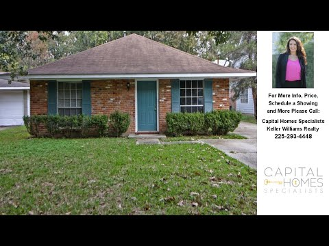 8567 Barnett Dr., Baton Rouge, LA Presented by Capital Homes Specialists.