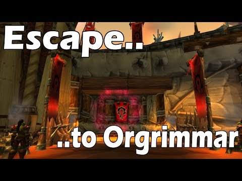 WoW SECRET: Escape from Brawl'gar Arena to Orgrimmar !!
