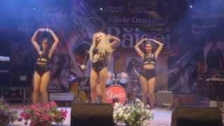 Rolla Sparks - TNT & Shimmy Yo - Live @ Zilele Orasului Baicoi 2014