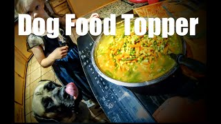 Making Chicken Gravy Topper for English Mastiffs, Giant Breed Dog Canine Nutrition Home Made Food