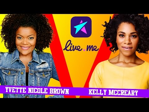 Yvette Nicole Brown and Kelly McCreary LIVE!