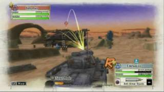 Valkyria Chronicles (PS3) - Chapter 7 in 20 minutes! Rank A strategy