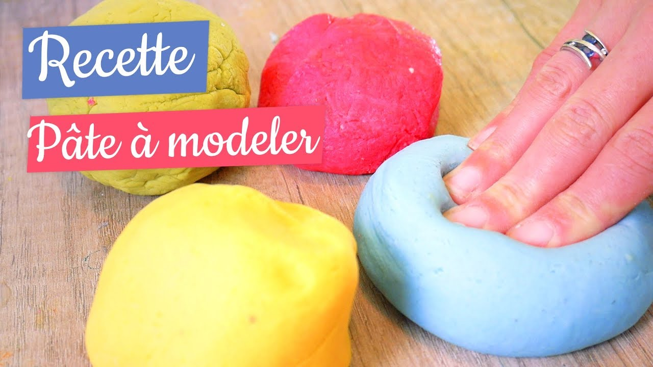 Recette Pâte à Modeler Comestible