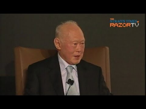 Singapore's future gas supply (MM Lee Dialogue at World Cities Summit Pt 5)
