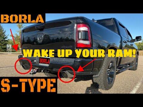 2019 Ram Hemi Borla S-Type Exhaust Video