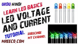 LED Basics | 5mm LED Voltage and Current Rating Complete in Urdu/Hindi