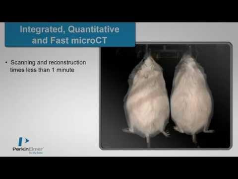 PerkinElmer's IVIS SpectrumCT Pre-clinical In Vivo Imaging System