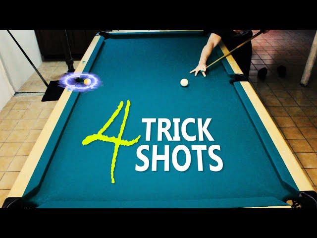 4 Pool Trick Shots: Volume 12