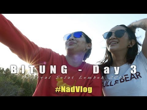 #NadVlog PESONA SELAT LEMBEH | SNORKELING BARENG KAK AY ... @BITUNG DAY 3
