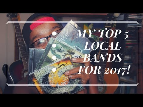 My top 5 Local (South African) bands for 2017.