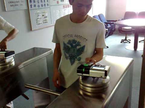 finger print punch card system 2