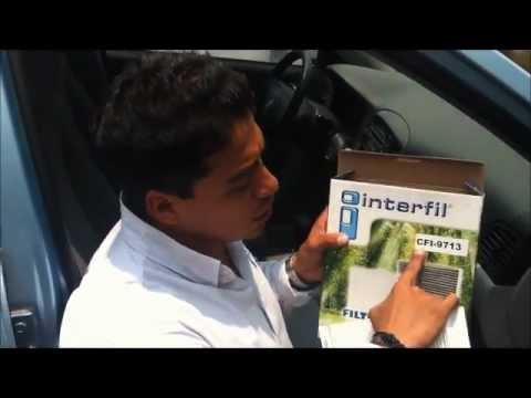 Interfil Cambio De Filtro De Cabina Dodge Atittude Youtube