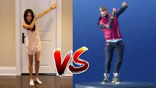 *ALL* 152 FORTNITE DANCES & EMOTES IN REAL LIFE (OH YEAH!)