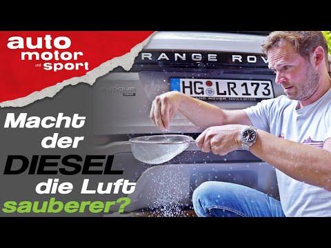 Feinstaub-Killer: Macht der Diesel die Luft sauberer? - Bloch erklärt #75 | auto motor und sport