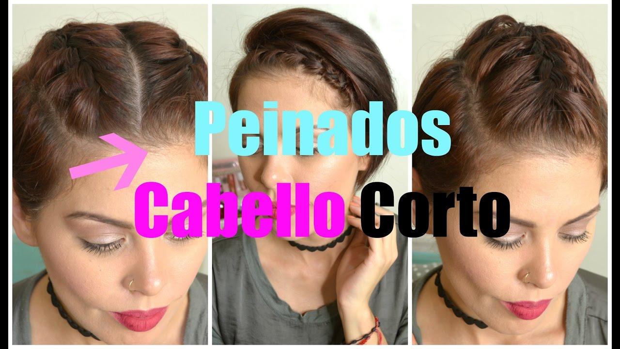 Peinados Sencillos Con Trenza Para Cabello Cortopixiemon