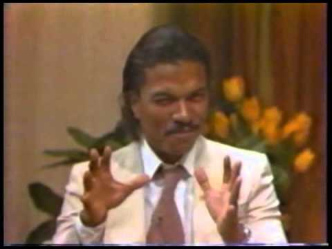 "Vintage Billy Dee Williams ""The Empire Strikes Back"" Interview"