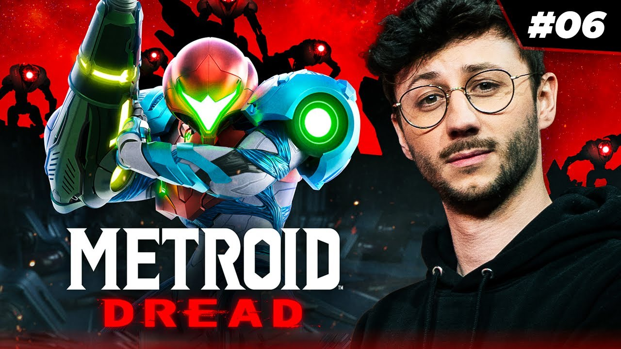On monte en puissance ! - LET'S PLAY METROID DREAD #06 - PONCE REPLAY 14/10/2021