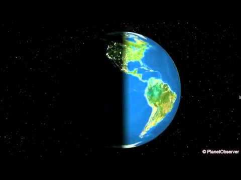 دوران الارض حول نفسها Youtube