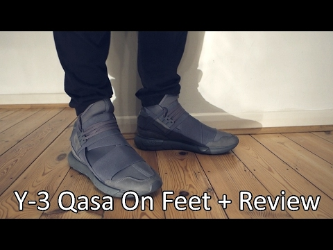 4720f64e5 Y-3 Qasa  Vista Grey  On Feet + Review - YouTube
