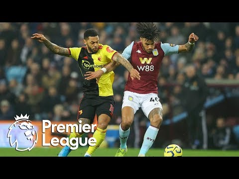 Tyrone Mings scores last-gasp winner for Aston Villa against Watford | Premier League | NBC Sports