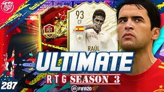 AMAZING!!! CHAMPS REWARDS!!! ULTIMATE RTG #287 - FIFA 20 Ultimate Team Road to Glory
