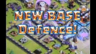 Clash of Clans New Base defence | New CoC base update | Lavaloonian and golems