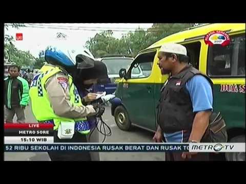 Detik-detik polisi diserang oleh orang tak dikenal di cikokol tanggerang