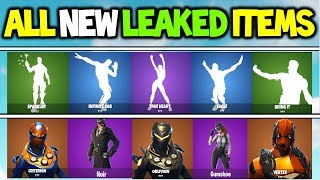 *NEW* FORTNITE LEAKED SKINS & EMOTES FOR SEASON 4/5 + MORE (INFINITE DAB, SPARKLER, EAGLE, BRING IT)