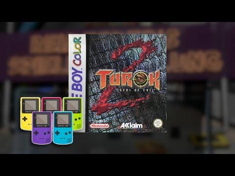Gameplay : Turok 2 - Seeds of Evil [Gameboy Color]