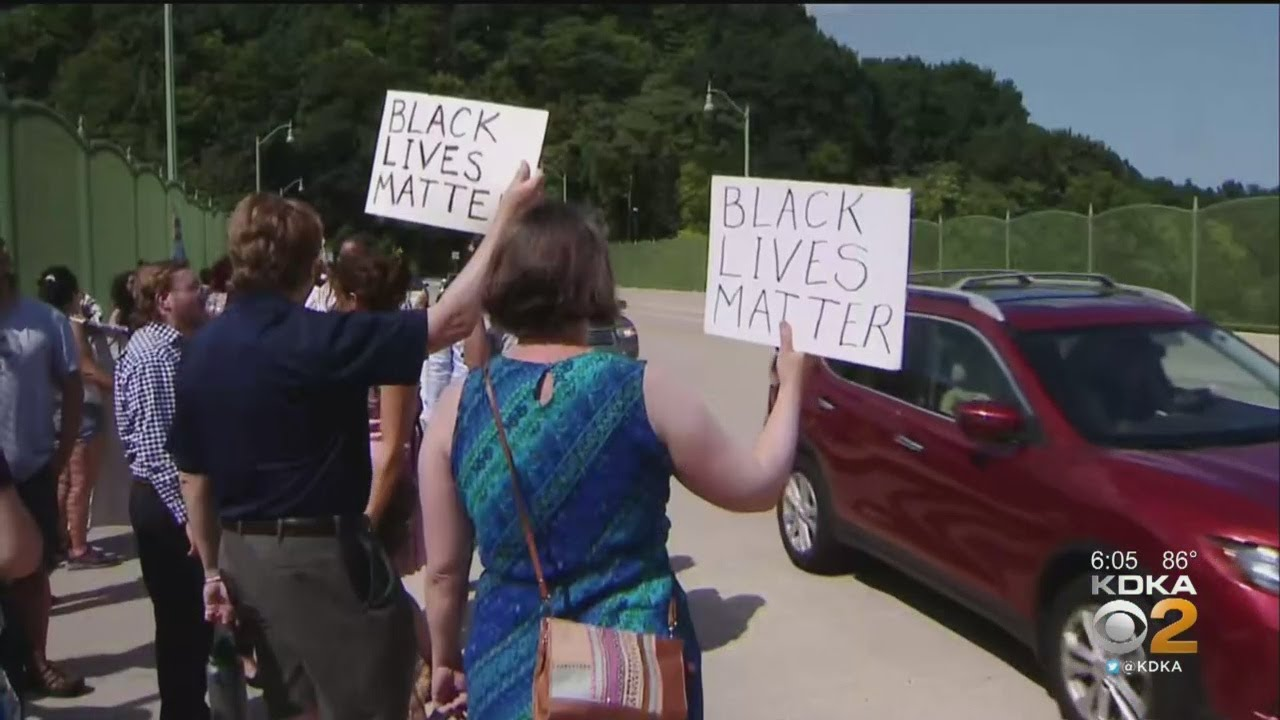 Protesters Demonstrate Against Pittsburgh Firefighter Charged With Assaulting Teenage Boy