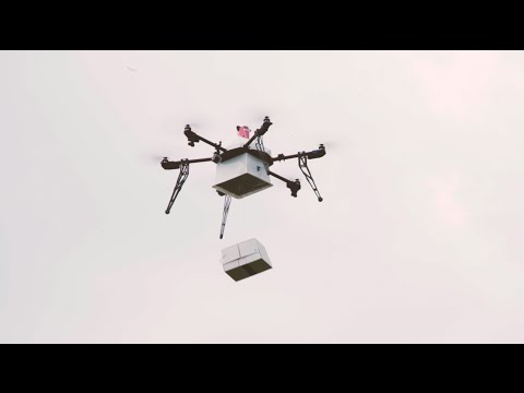 Flirtey Conducts First U.S. Ship-to-Shore Drone Delivery