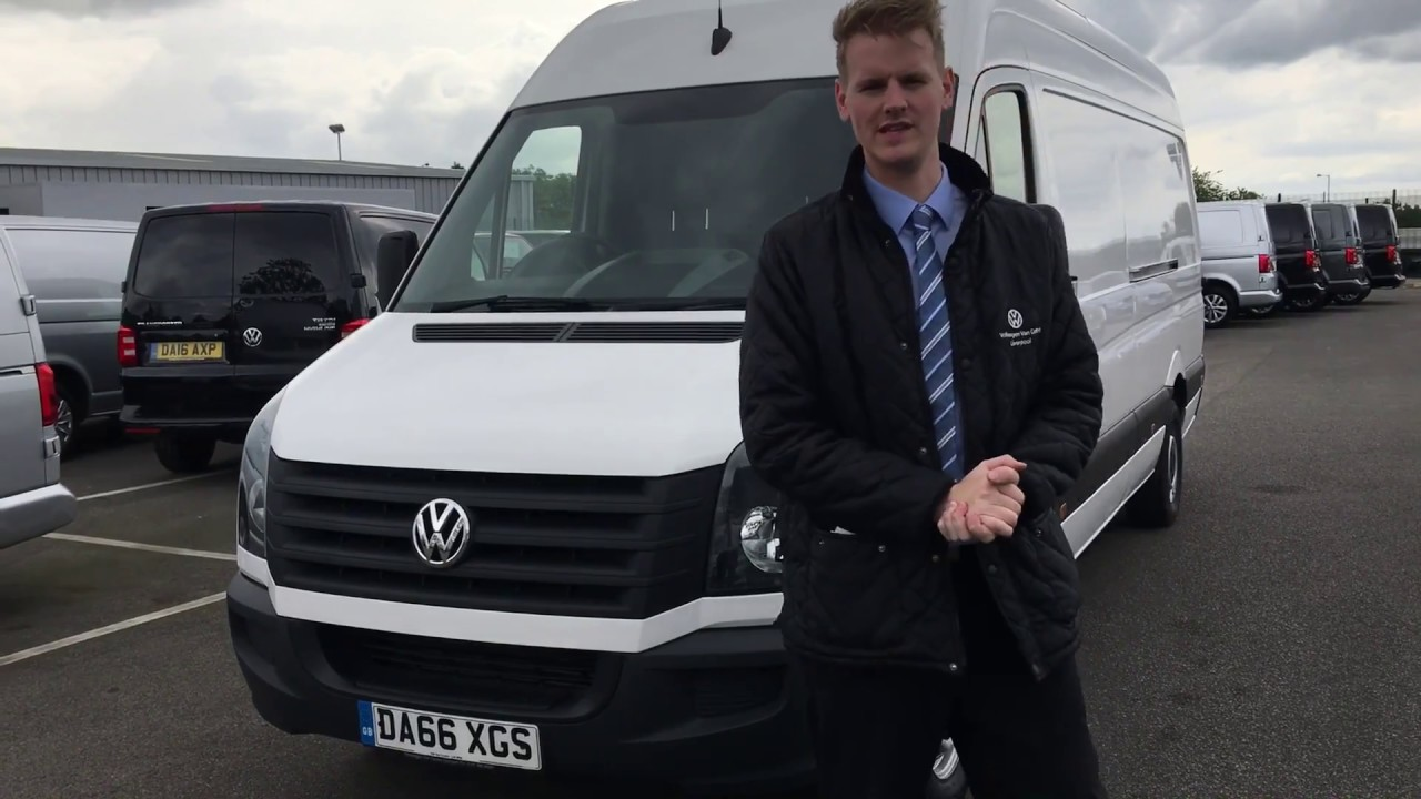 Volkswagen Crafter 109PS LWB For Sale At VW Van Centre Liverpool