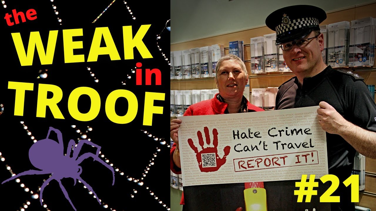The Weak in Troof #21 - Disability Hate Crime Network - Mik Scarlet - Fake Disability Activists