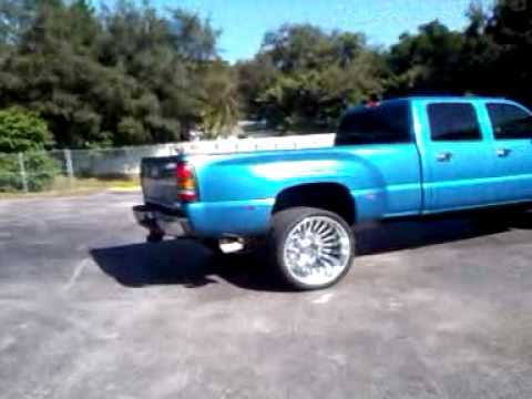 Jonny O Blue Dually On 26inch Wheels Youtube