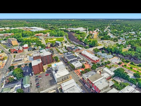 Millville, New Jersey - Aerial video