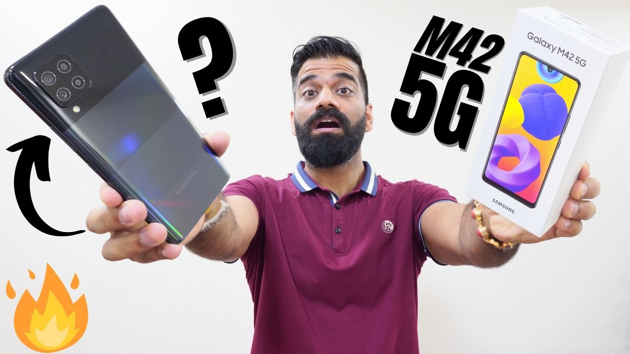 Samsung Galaxy M42 Unboxing & First Look - The Fastest Monster Is Here | 5G🔥🔥🔥