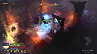 Diablo 3 (PS3) - XP Farming Run - Act III (Monk)