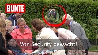 RoyalInside - Victoria von Schweden: Umzingelt von einer Security-Armada  - BUNTE TV