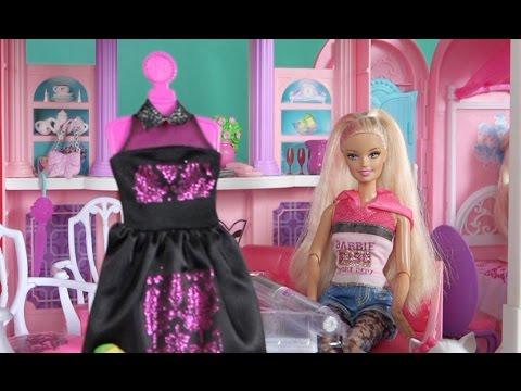 Барби Мультфильм куклами на русском,Новая серия про Барби Дизайнер одежды Игры в куклы для девочек