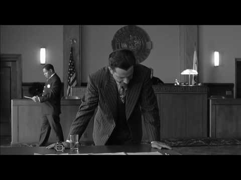 The Man Who Wasn't There (2001) — Sequence From The Courtroom To The Barber's Home